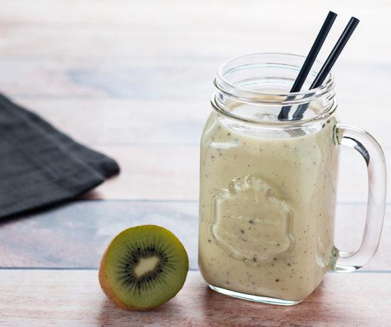 Smoothie z kiwi i banana | lunchboxodkuchni.pl