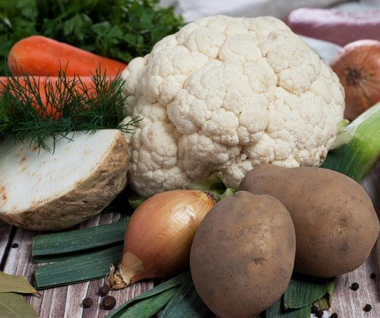 Zupa kalafiorowa - produkty