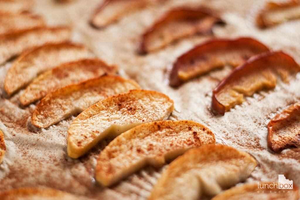 Pieczone jabłka z cynamonem - po upieczeniu | lunchboxodkuchni.pl