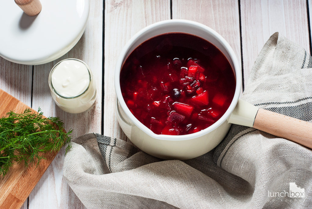 Zupa a la barszcz ukraiński | lunchboxodkuchni.pl
