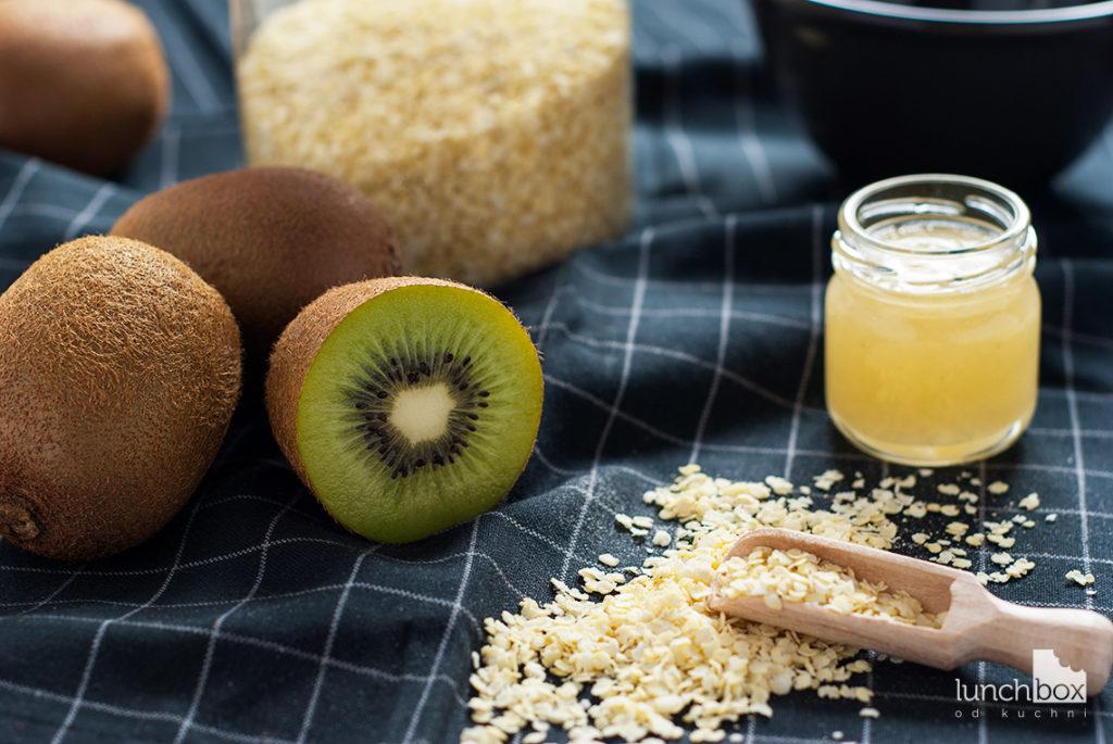 Płatki jaglane z kiwi - produkty | lunchboxodkuchni.pl