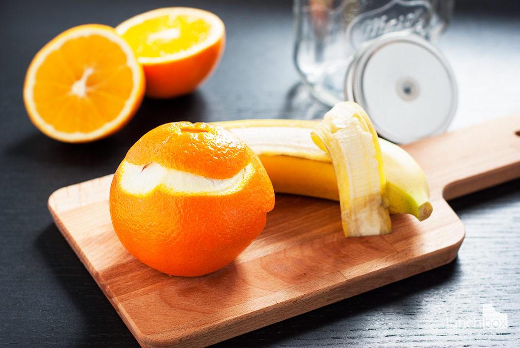 Smoothie banan z pomarańczą - produkty | lunchboxodkuchni.pl