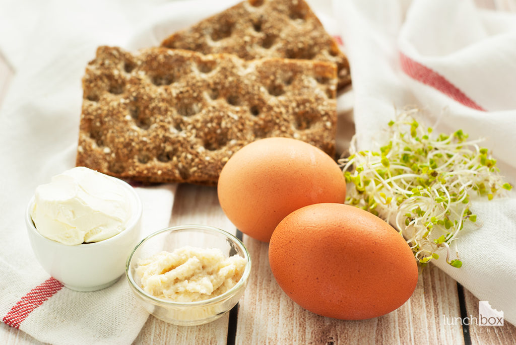 Pasta jajeczna - produkty | lunchboxodkuchni.pl