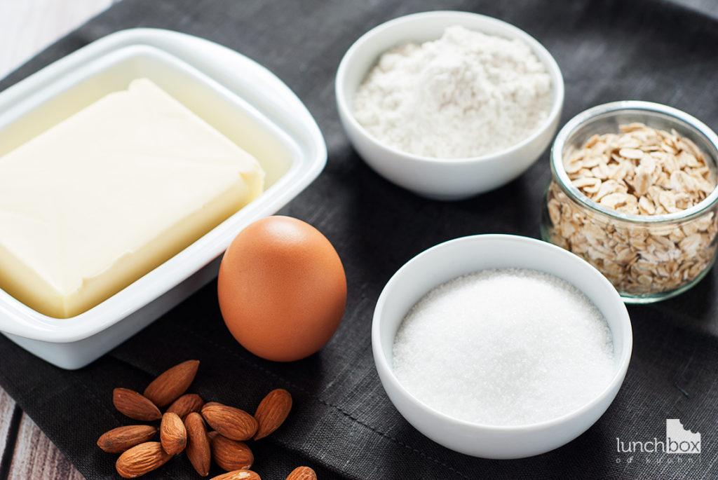 Ciastka owsiano-migdałowe - produkty | lunchboxodkuchni.pl