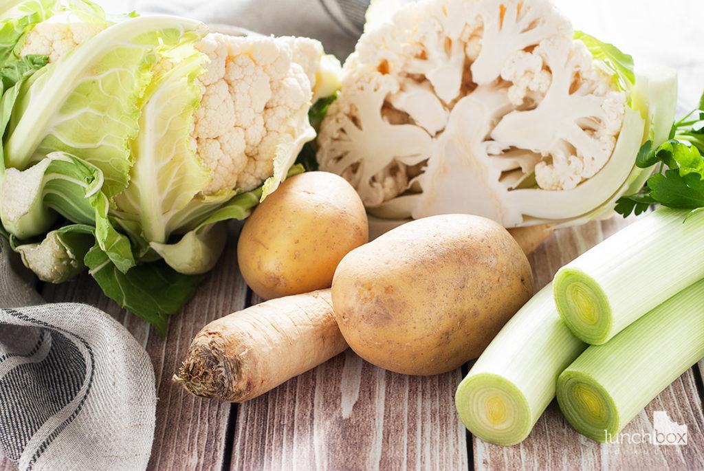 Krem z kalafiora - produkty| lunchboxodkuchni.pl