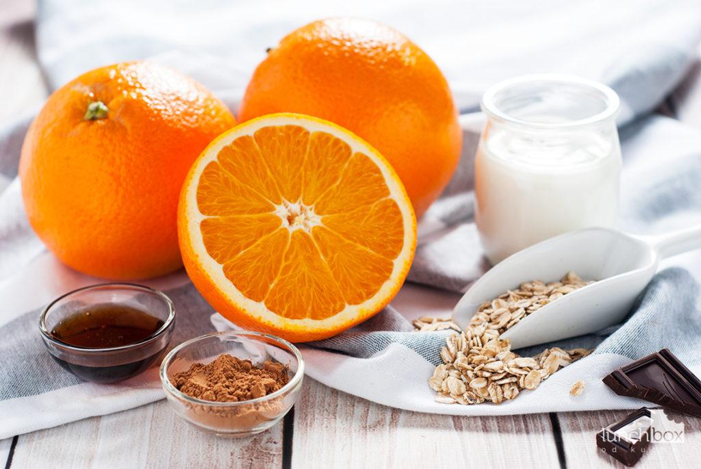 Pudding czekoladowo-pomarańczowy - produkty | lunchboxodkuchni.pl