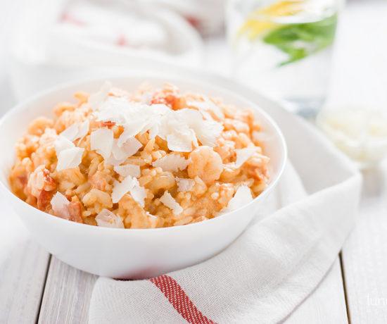 risotto z krewetkami | lunchboxodkuchni.pl