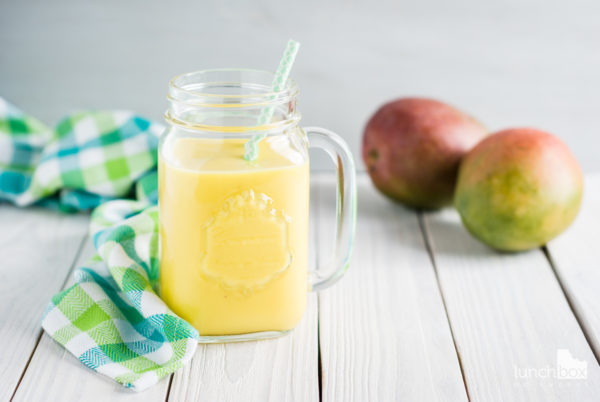 Smoothie mango z mlekiem kokosowym i imbirem | lunchboxodkuchni.pl