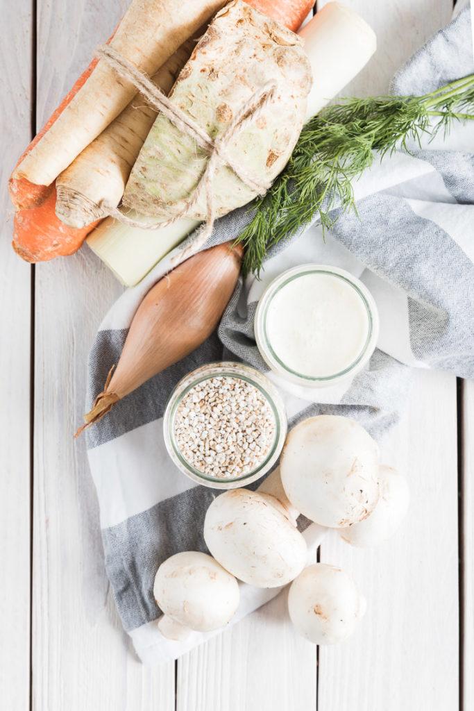 Zupa pieczarkowa | lunchboxodkuchni.pl